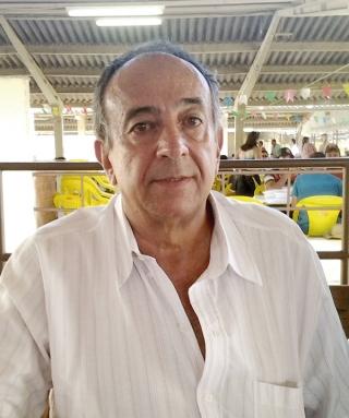 Benedito Antônio Pinto Ferreira (Ditão), do Haras Lagoa Branca, de Piumhi. Criador há mais de 30 anos.
