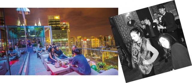 Primeira foto: Rooftop - ̉ۡ como se fosse um boteco na laje. Segunda foto: Pub.