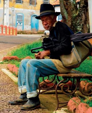 O fotógrafo conheceu o jeito simples das pessoas, como em Prados.
