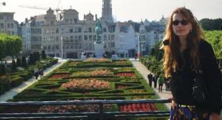 """Bruxelas na Bélgica - fi camos surpresos coma cidade - é um """"doce� - parece uma cidade cenográfi ca."""