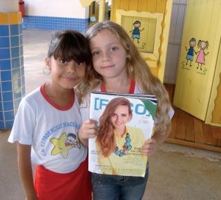 Crianças adoram ler Foquinha.