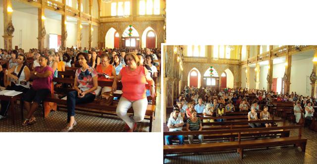 Missa às 12h toda quarta-feira na Igreja Senhor Bom Jesus dos Passos: inovação que tem dado certo.
