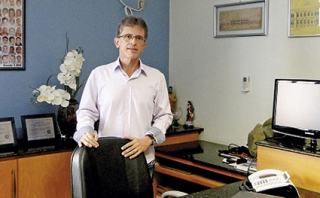 O diretor administrativo da instituição Daniel Porto Soares.