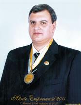Raul dos Reis Silveira - do Grupo Talento, foi indicado para o Mérito Empresarial 2011, da Federaminas.