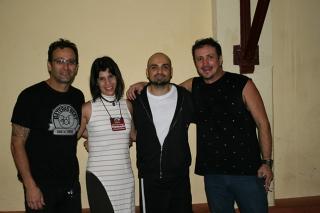 Dino Verdade, Maria Eugênia, Raphael Saini e Márcio Fornari.