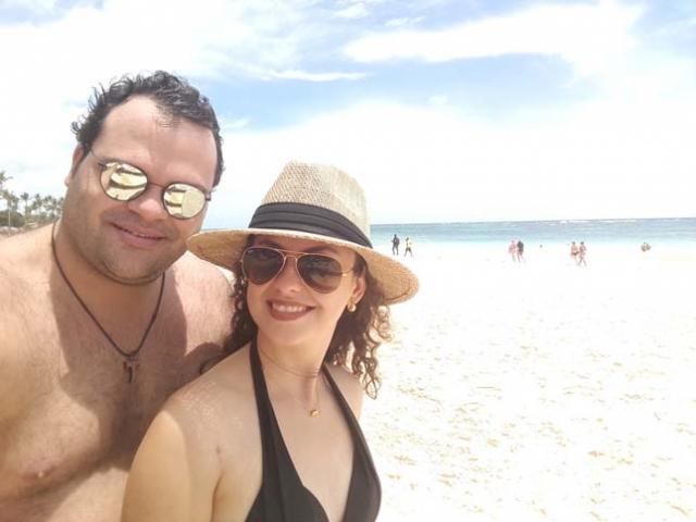 Adriano e Vanessa.
