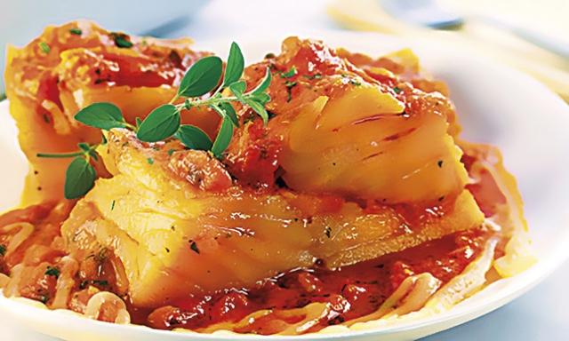 Bacalhau a pomodoro
