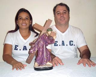 """Edelzia e Walter: """"Os jovens devem ser acolhidos pela família, pela Igreja e pela sociedade.�"""
