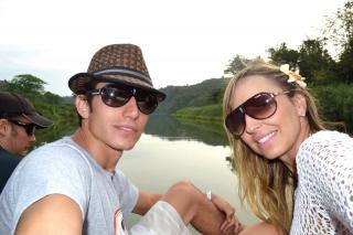 Henrique Minchillo e Lívia Salermo  - passeio em Altos de Chavón.