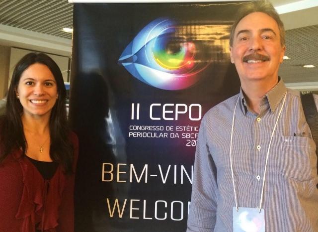 Dra. Elisa Brasileiro Piantino e Dr. Evaldo Piantino