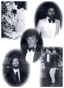 Grandes artistas que visitaram o CPN: O cantor Roberto Carlos (beijando Terezinha Spósito), os atores Tony Ramos, Carlos Eduardo Dolabella e Eduardo Tornaghi e o cantor Jair Rodrigues (com Zé da Beca, um dos fundadores do CPN).