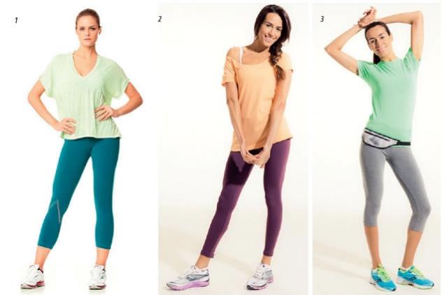 Blusas mais justinhas ou mais larguinhas... O importante é o conforto! Blusa larguinha decote V (Foto 1), blusa decote canoa (Foto 2) e t-shirt estilo babylook (Foto 3), todas TRACK & FIELD.