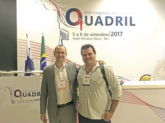 Dr John Charity (Exeter) e Dr. Adriano Ribeiro.