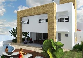 Casa que será sorteada no Condomínio Vale Verde pelo HRC.