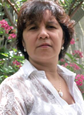 A professora de Zoologia de Invertebrados, Nelci de Lima Stripari.