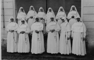 As Irmãzinhas na Santa Casa.