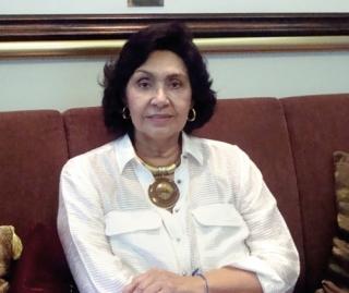 Professora Maria Jabace Reis - Ex-diretora do Departamento de Cultura.