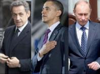 Sarkozy, Obama e Putin devem enfrentar eleições presidenciais em 2012.