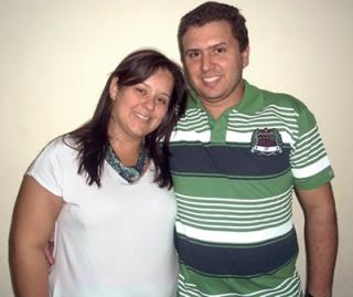 O casal Michelle e Fabrício conta a sua história de amor dentro do E. A. C. Con