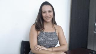 Psicóloga Heloisa Cristina Silva, especializada em psicoterapia cognitivo-comportamental.
