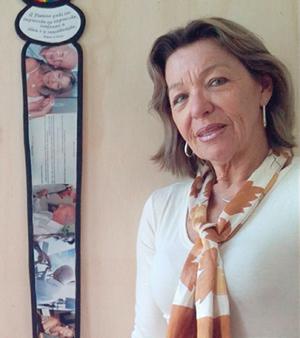 Regina Piotto: professora e artista plástica.
