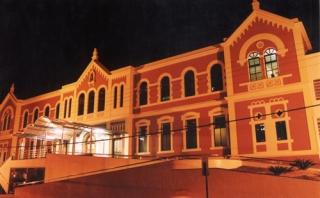 Fachada atual revitalizada em 2004 segundo o projeto do arquiteto Ivan Andrade Vasconcellos.