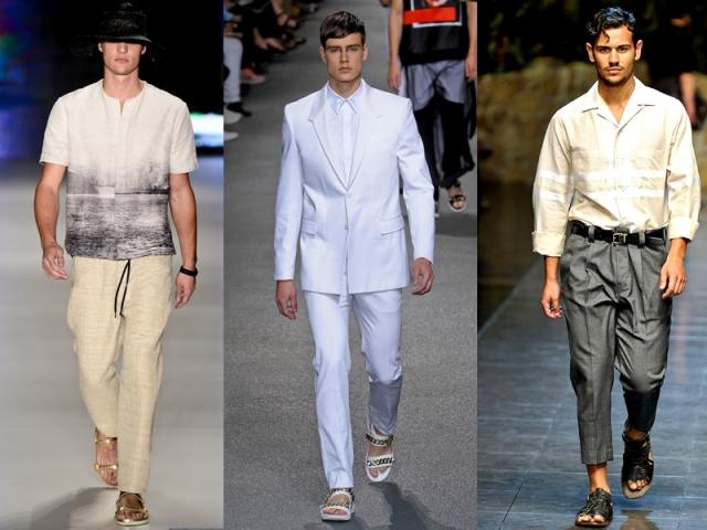 Sandálias - Osklen (Foto 1); Dolce & Gabanna (Foto 3); Givenchy (Foto 2).