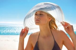 Proteção da pele ao sol.
