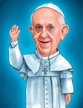 O que você achou da visita do Papa ao Brasil?