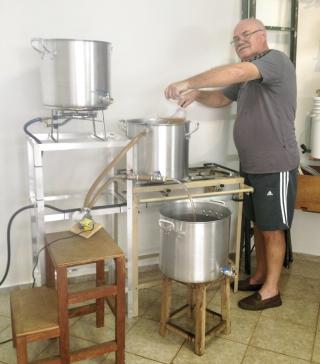 Fabricação da Cerveja.