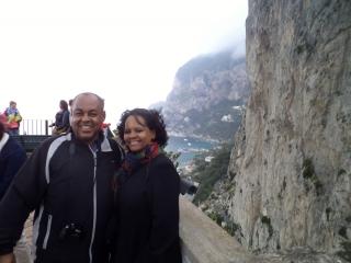 Ilha de Capri, Itália.