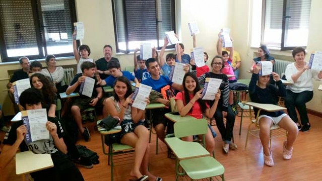 Entrega de Certificados - Escola Enforex