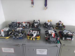 Estacionamento de Robôs.