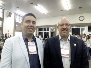 Dr. Alberto Wainstein (ÃÆ' dir.), de Belo Horizonte-MG e o residente, Bruno Aquino Marcelino.