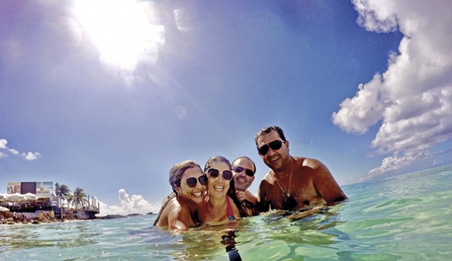 A beleza paradisíaca das ilhas do Caribe