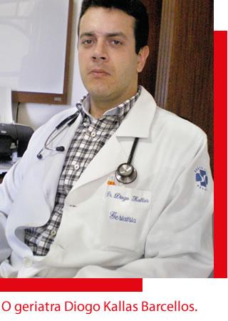 O geriatra Diogo Kallas Barcellos.