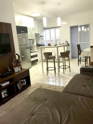 Os ambientes das salas integradas devem ser clean para não cansar os moradores.