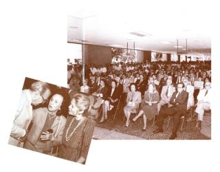 Mais de 300 pessoas na festa dos 30 anos de Furnas, comemorados em 1987