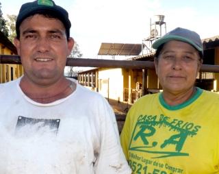 Geraldo Maia e Rosane também apoiam a obra pelo bem da comunidade.