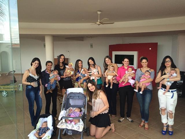 Mães de primeira viagem criam grupo para trocar experiencias