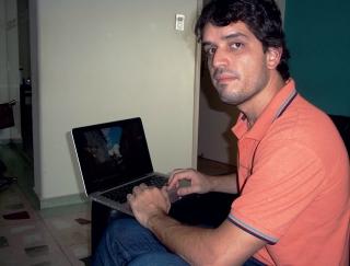 Diego Vasconcelos planejou a viagem em três etapas
