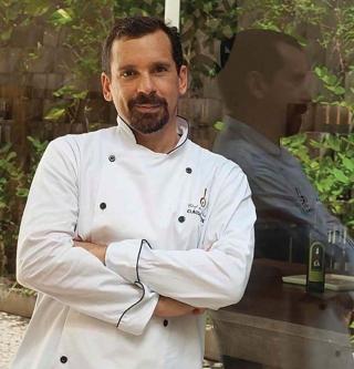 O Chef de Cozinha, Claudio Matos.