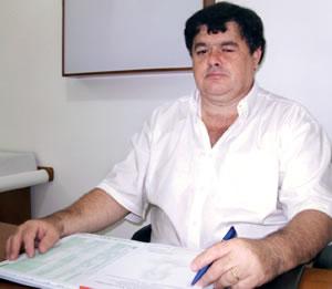 O neurocirurgião Roberto Grintaci Vasconcellos.