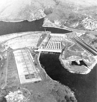 Com 1,2 milhão de quilowatts, Furnas era a maior hidrelétrica.