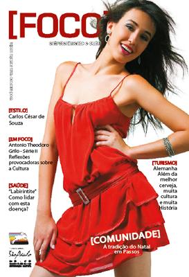 Foco: edição nº 20 - Capa de dezembro 2006.