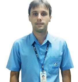 André Reis Alves, formado em Agronomia há 3 anos, atualmente é engenheiro responsável da Casmil.