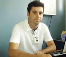 Gustavo: O fisioterapeuta Gustavo Botrel ressalta a importância de se tratar o fator psicológico do paciente.