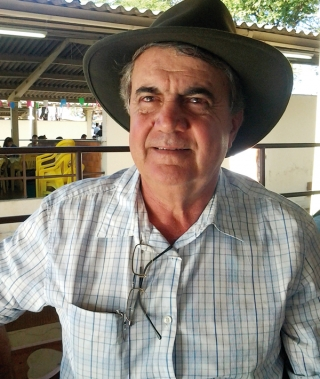 Plínio Rodrigues Nunes, Presidente do Núcleo Mangalarga Marchador do Oeste Mineiro. Criador há mais de trinta anos em Piumhi.