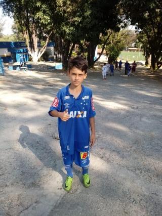 Sérgio Gomes Ribeiro Filho - 11 anos.