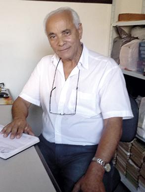 José Leite de Carvalho  Historiador